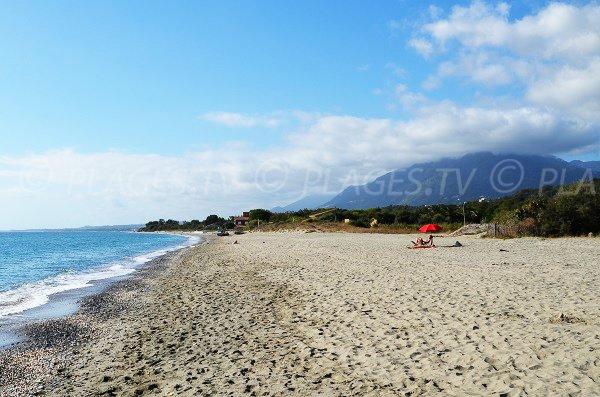 Campings en bord de plage de Figaretto