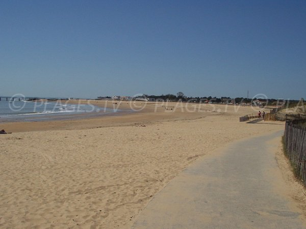 Flandre Dunkerque beach in La Tranche sur Mer in France