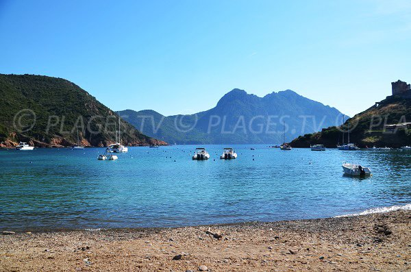 Gulf of Girolata in Corsica