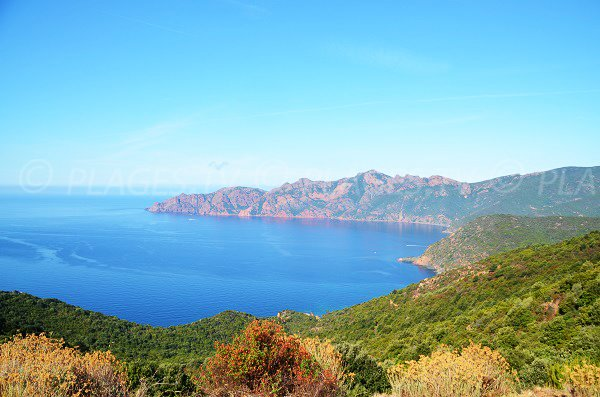 Gulf of Girolata and scandola reserve - Corsica