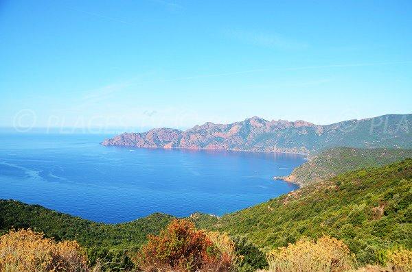 Gulf of Girolata and scandola reserve - Corsica