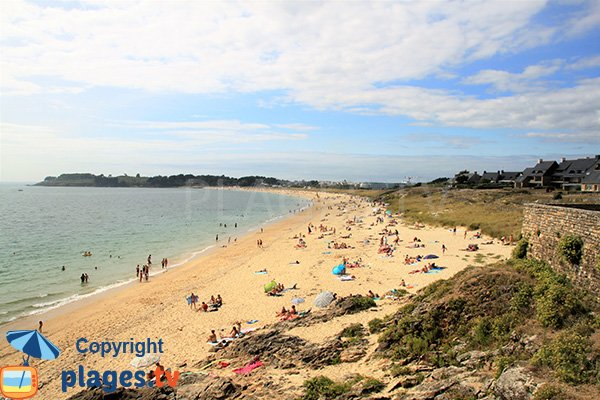 Photo of Fogeo beach in Arzon in summer
