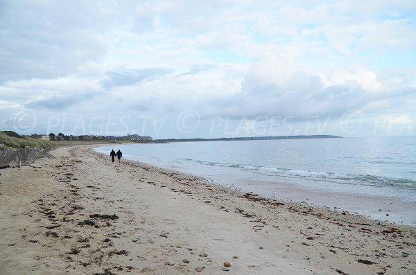 Plage océane à Arzon - Fogeo