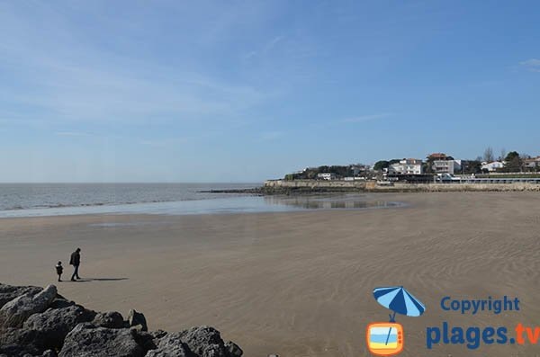 Photo of Foncillon beach in Royan - Charente-Maritime