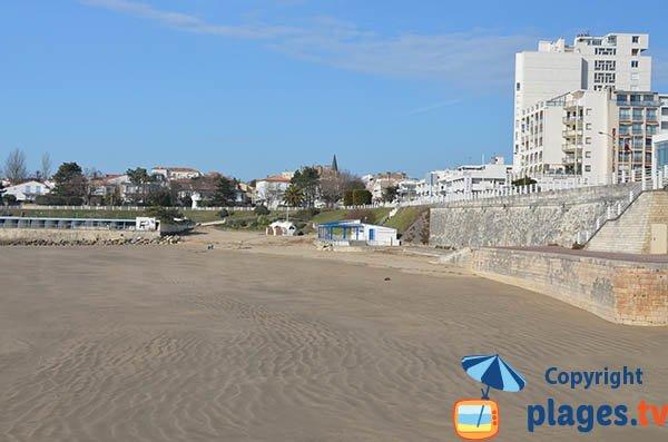 Photo de la plage du Foncillon à Royan