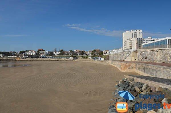 Cale de mise à l'eau sur la plage du Foncillon - Royan