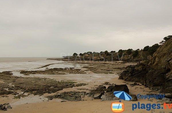 Seconde plage de la fontaine aux bretons - Pornic