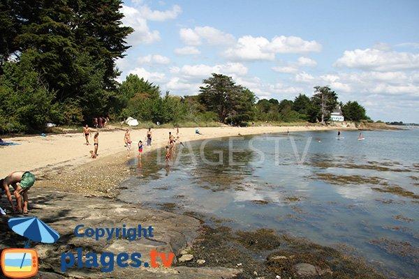 Plage de Fontaine Varia - Ile d'Arz