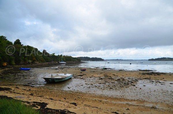 Plage sur la presqu'ile du Rhuys - Golfe du Morbihan