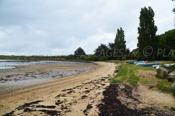 Photo de la plage des Fontaines à Arzon