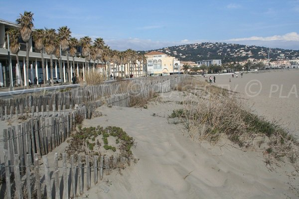 Photo of Fontaine beach with walkway - Sete