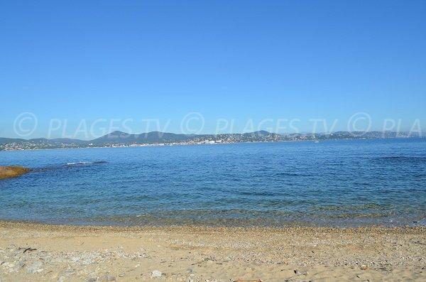 View on Sainte Maxime from Saint Tropez