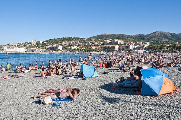 Fontaulé beach in Banyuls sur Mer