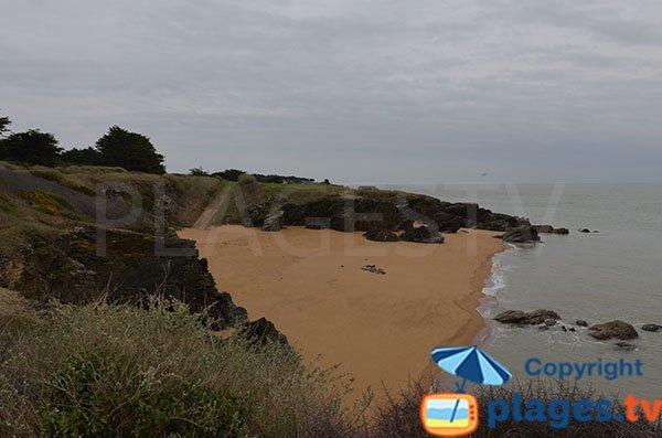 Spiaggia di Fontenis a Pornic - Francia