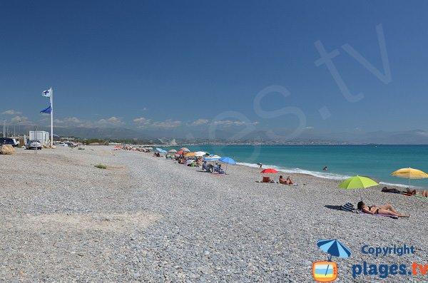 Plage de la Fontonne à Antibes