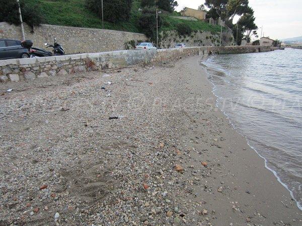 Photo of Fort de l'Eguillette beach in La Seyne sur Mer