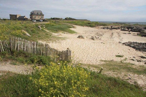 Photo de la plage du Fort Hikéric au Croisic