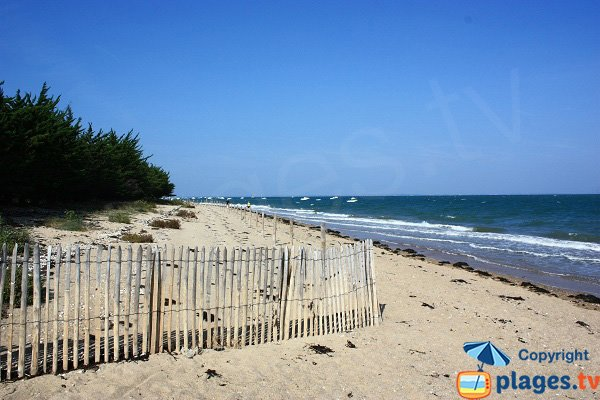 Photo of Fort Larron beach in Noirmoutier in France