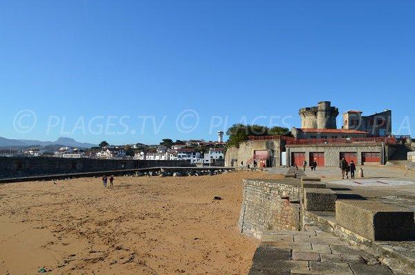 Spiaggia e forto di Socoa - Francia