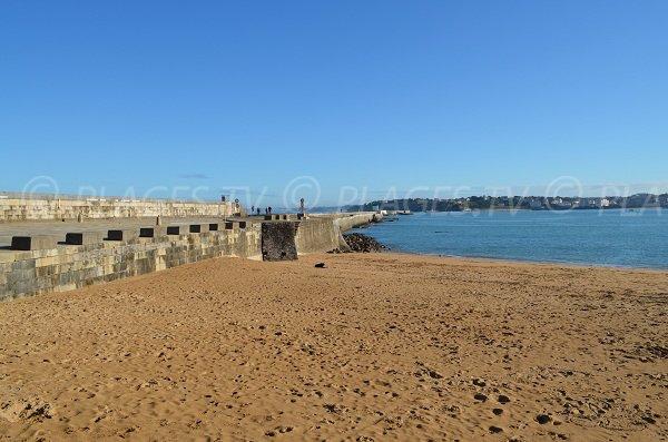 Spiaggia del Forte di Socoa a Ciboure - Francia