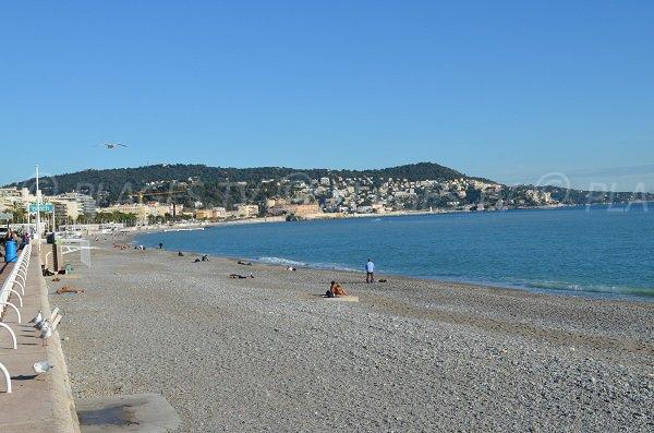 Foto spiaggia del Forum in inverno - Nizza