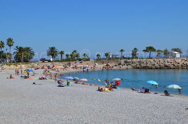 Photo of Fossan beach in Menton