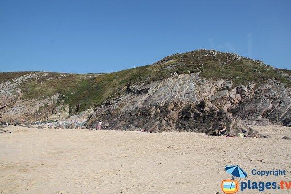 Environnement de la plage de la Fosse