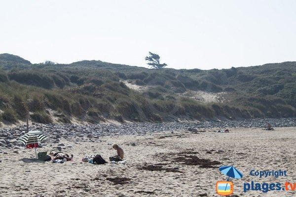 Galets sur la plage de la Fosse - Plévenon