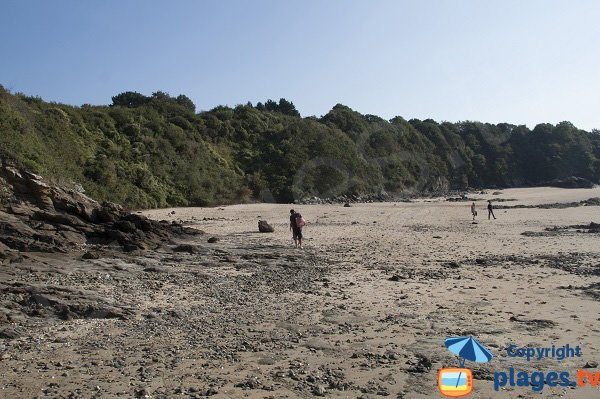 beach sheltered from the wind - La Fosse at St Cast le Guildo