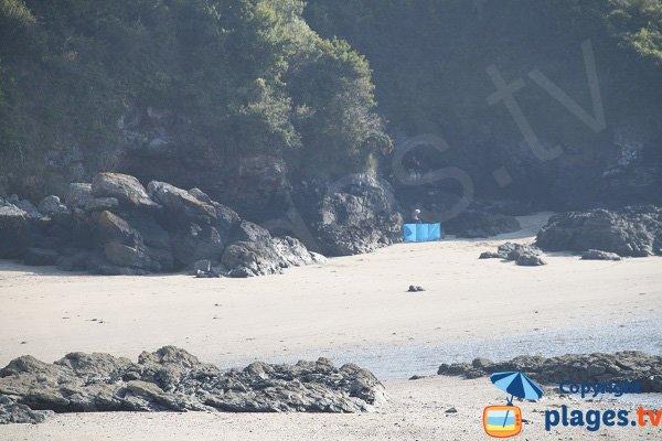 Rocks on La Fosse beach - St Cast le Guildo
