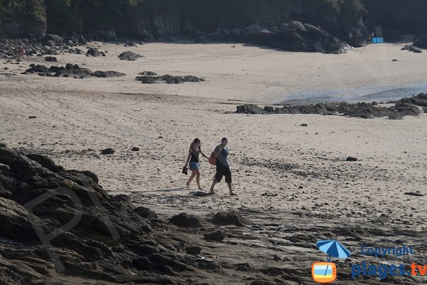 Photo of La Fosse beach in Saint Cast Guildo in France