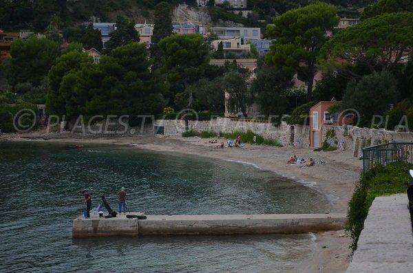 Plage Fosses au Cap Ferrat