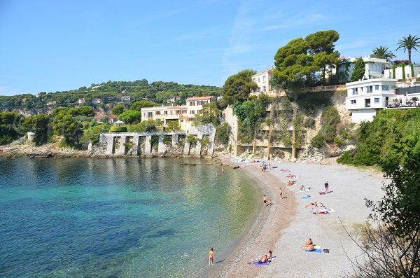 Photo of Fossettes beach - St Jean Cap Ferrat