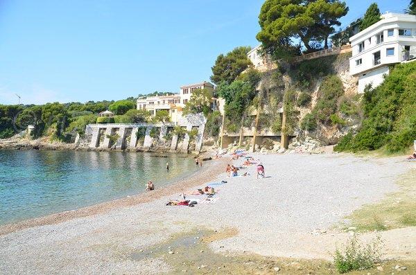 Stone beach - Les Fossettes - Cap Ferrat