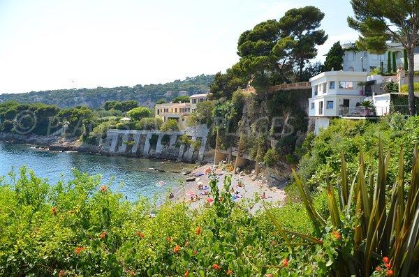 Fossettes beach near Nice