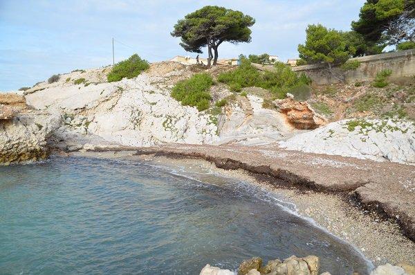 Foto della spiaggia di Sausset les Pins - Four à Chaux