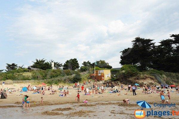 Poste de secours de la plage de la Fourberie