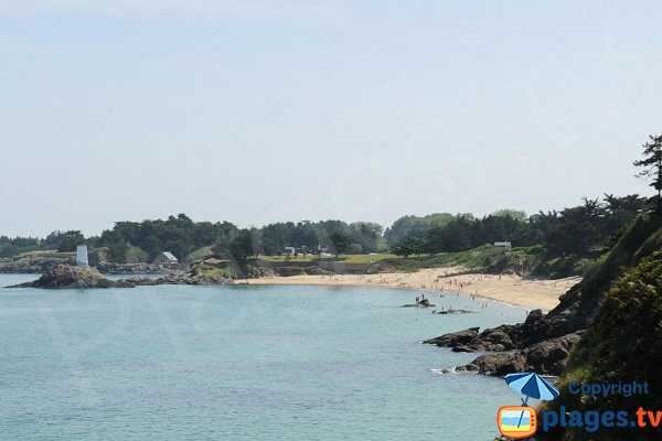 Photo de la plage de la Fourberie à Saint Lunaire