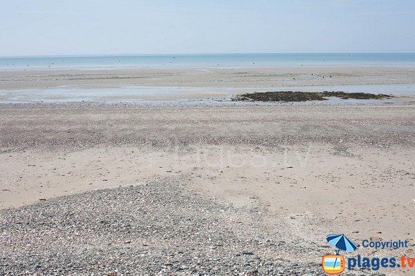 Fourneau beach in Granville (Normandy)