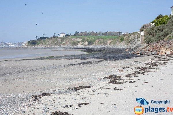 Photo de la plage du Fourneau de Granville