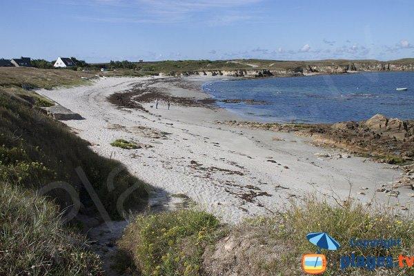 Photo de la plage de Fozo à Saint Pierre Quiberon