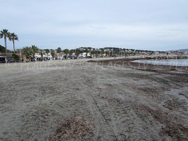 Spiaggia della Frégate a Six Fours les Plages - Francia
