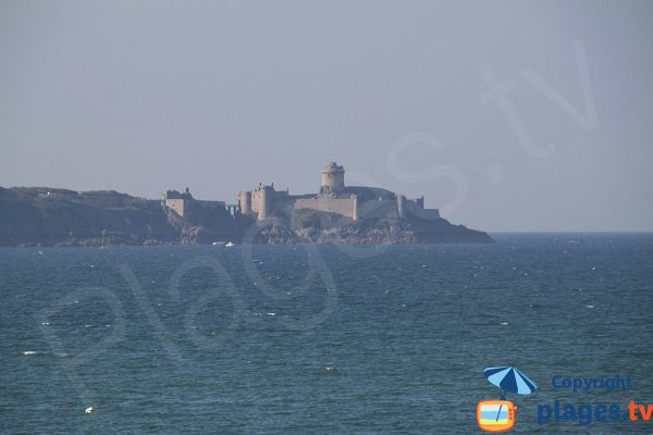 Catle of Fort-la-Latte in Brittany in France