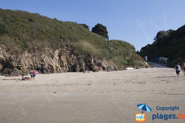 Access to Fresnaye beach - St Cast Guildo