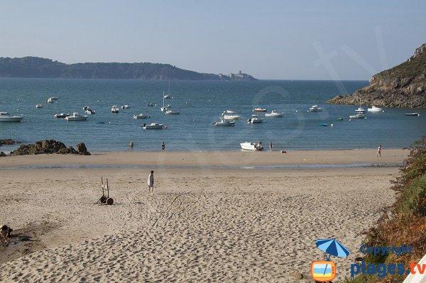 Photo of Fresnaye beach in Saint Cast le Guildo in France