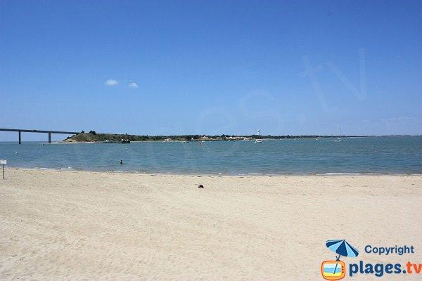Ile de Noirmoutier depuis la plage de Fromentine