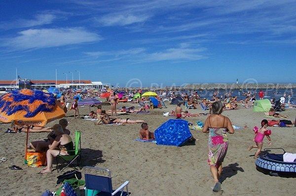 Spiaggia e Casino - Port la Nouvelle - Francia