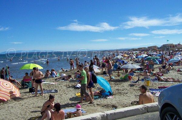 Foto della spiaggia del Centro - Port la Nouvelle