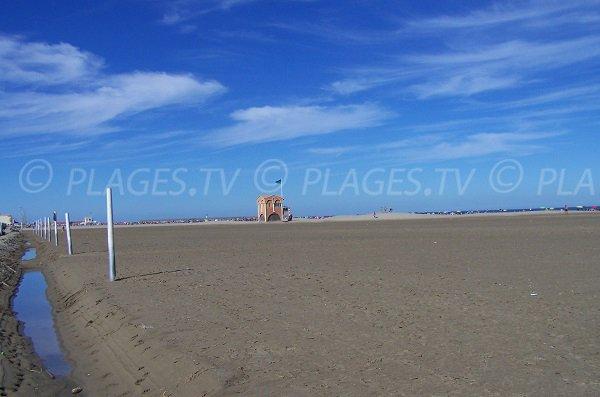 Spiaggia di Port la Nouvelle in Francia