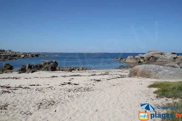 Photo de la plage de Frouden - Plouescat